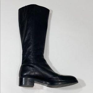 Black Via Spiga boots